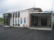 平屋建てガレージ・物置付 事務所